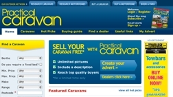 Screen shot of Practical For Sale sites