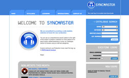 Screen shot of Syncmaster